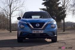Photos essai Nissan Juke 2020 face avant calandre feux