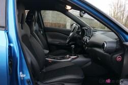 Photos essai Nissan Juke 2020 intŽrieur siges