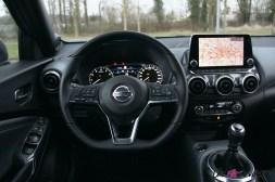 Photos essai Nissan Juke 2020 intŽrieur volant