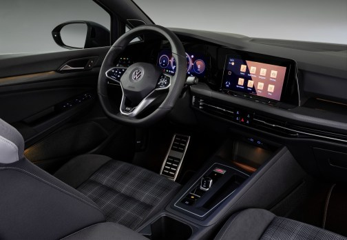 Photos Volkswagen Golf GTD 2020 intérieur