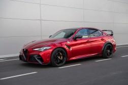 Photos Alfa Romeo Giulia GTA et GTAm 2020 profil