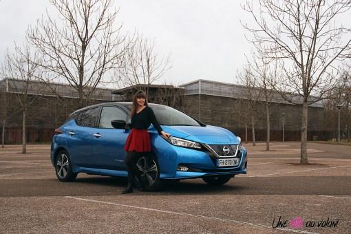 Photos essai Nissan Leaf e+ 2020 compacte Žlectrique