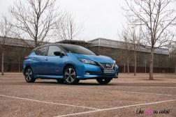 Photos essai Nissan Leaf e+ 2020 voiture Žlectrique