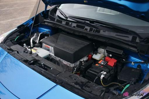 Photos essai Nissan Leaf e+ 2020 moteur Žlectrique