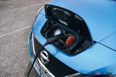 Photos essai Nissan Leaf e+ 2020 prise capot