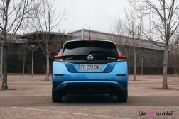 Photos essai Nissan Leaf e+ 2020 face arrire