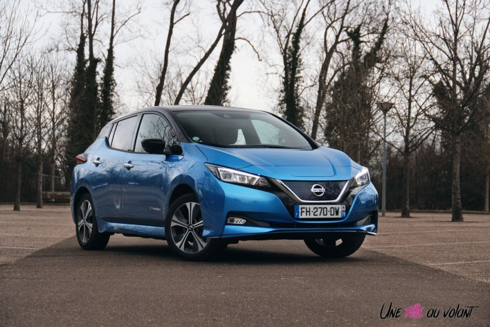 Photos essai Nissan Leaf e+ 2020