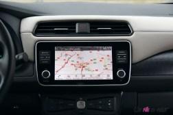 Photos essai Nissan Leaf e+ 2020 Žcran tactile