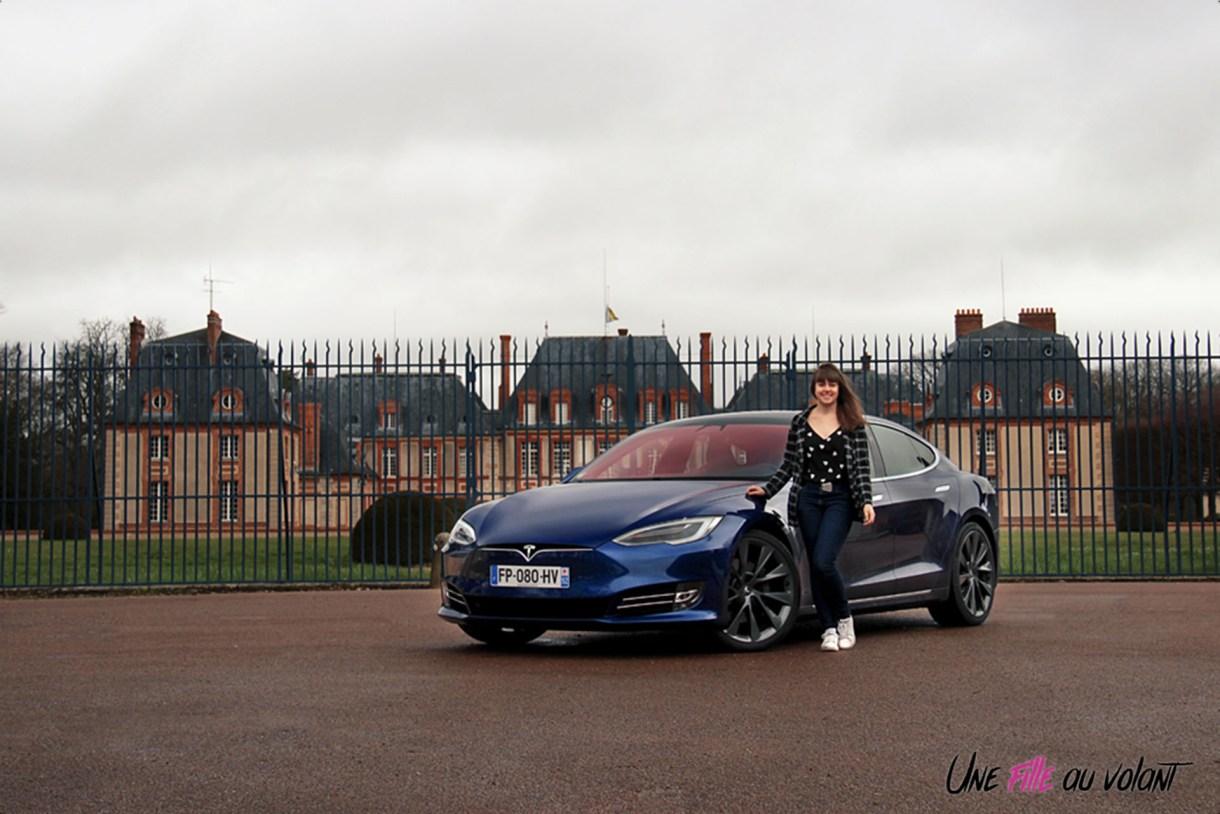 Photos essai Tesla Model S Grande Autonomie 2020 Marie Lizak
