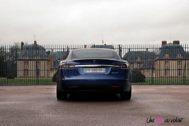 Photos essai Tesla Model S Grande Autonomie 2020 arrire