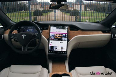 Photos essai Tesla Model S Grande Autonomie 2020 intŽrieur
