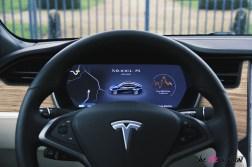 Photos essai Tesla Model S Grande Autonomie 2020 combinŽ numŽrique