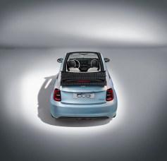 Photos Fiat 500C électrique 2020 arrire