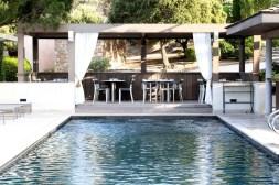 photos Hotel La Villa Calvi Corse bar piscine
