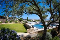 photos Hotel La Villa Calvi Corse vue piscine extŽrieure