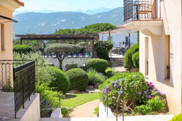 photos Hotel La Villa Calvi Corse vue extŽrieure jardin