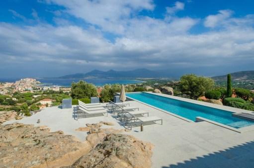 photos Hotel La Villa Calvi Corse terrasse piscine extŽrieure