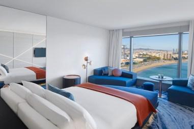 Photos hotel W Barcelona chambre vue sur mer