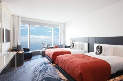 Photos hotel W Barcelona chambre lits sŽparŽs