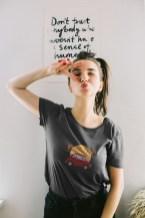 Photos T-shirt boutique en ligne Une Fille au Volant road trip