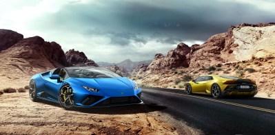 Photos Lamborghini Huracan Evo RWD Spyder 2020 cabriolet coupŽ