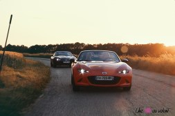 Photos Mazda MX-5 Eunos Edition 2020 30me anniversaire orange