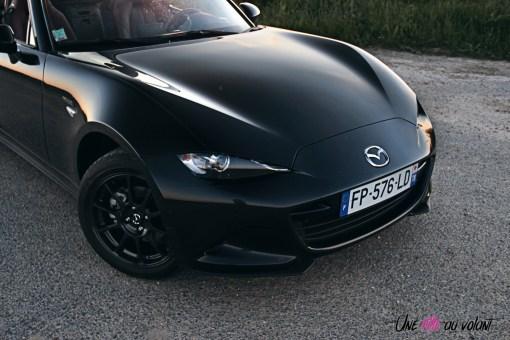 Photos Mazda MX-5 Eunos Edition 2020 face avant capot