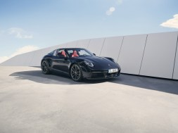 Photos Porsche 911 Targa 2020 face avant statique