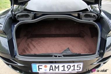 Photos essai Aston Martin DB11 coffre