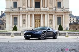 Photos essai Aston Martin DB11 Invalides