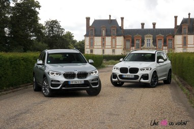 Photo essai BMW X3 hybride rechargeable 2020 SUV