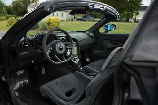 Photo intérieur McLaren 720S Spider 2020