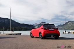 Photo arrire Toyota Yaris hybride 2020