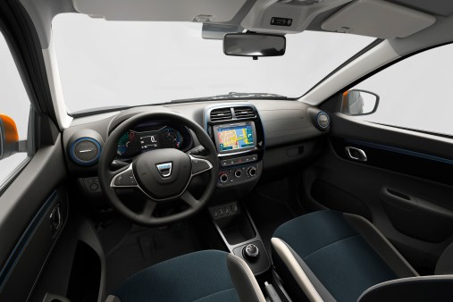 Photo intérieur Dacia Spring Electric 2020