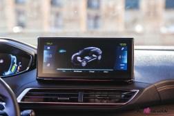 Photo écran tactile Peugeot 3008 restylée