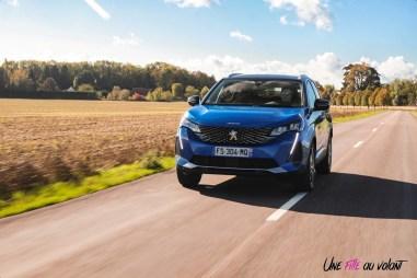 Photo dynamique Peugeot 3008 restylée