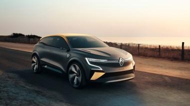 Photo Renault Mégane eVision 2020 concept