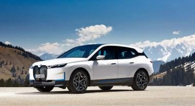Photo nouveau BMW iX 2021