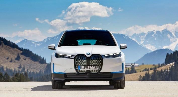 Photo face avant BMW iX 2021