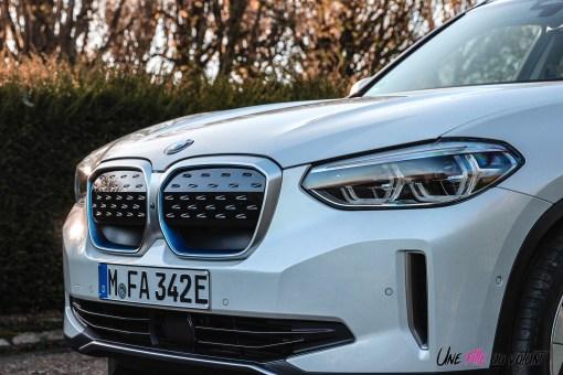 Photo calandre pleine BMW iX3 2020