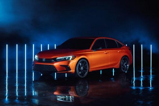 Photo Honda Civic Prototype 2020