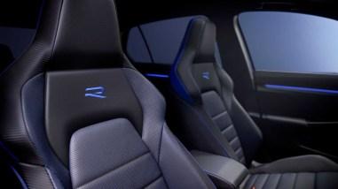 Photo sièges Volkswagen Golf R 2020