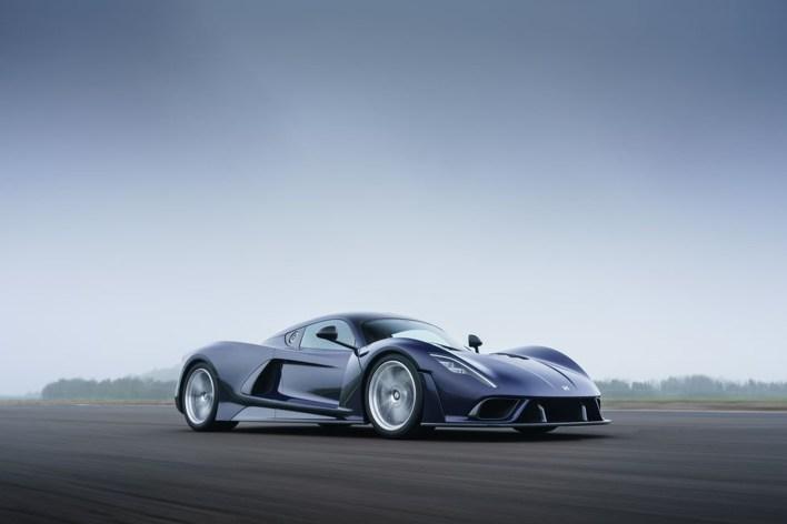 Photo supercar Hennessey Venom F5 2020
