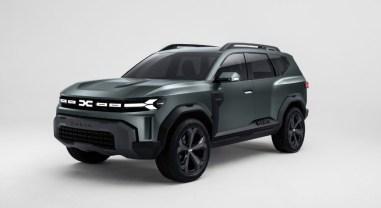 Photo Dacia Bigster Concept SUV sept places 2021