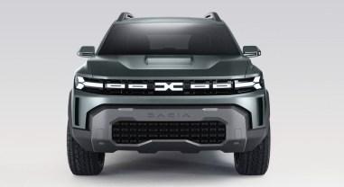 Photo face avant Dacia Bigster Concept 2021