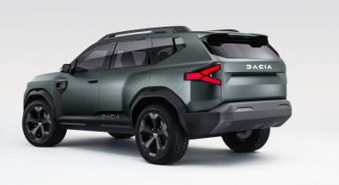 Photo face arrière Dacia Bigster Concept 2021