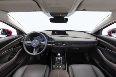 Photo poste de conduite Mazda CX-30 2021