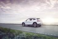 Photo arrière Mercedes EQA électrique 2021
