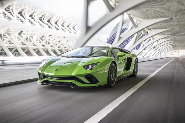 Photo Lamborghini Aventador S