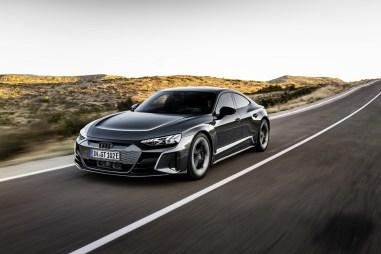 Photo dynamique Audi E-Tron GT Quattro 2021